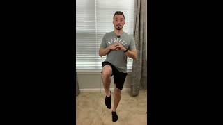 How to perfect your LUNGES so you don't hurt your KNEES working out while sheltering in from COVID-1