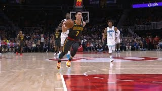 Jeremy Lin Highlights - Hornets at Hawks 2/9/19