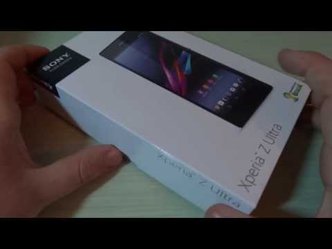 Foto Unboxing in Italiano di Sony Xperia Z Ultra