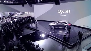 INFINITI Live at the Detroit Auto Show - QX50 Concept Reveal