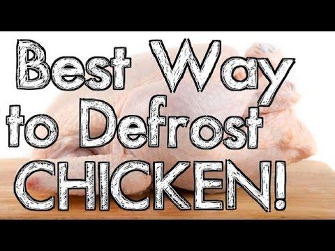 Best Way to Defrost Chicken