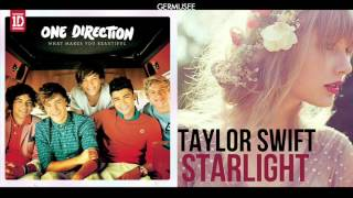 "One Direction & Taylor Swift - ""Starlight Makes You Beautiful"" (Mashup)"