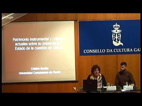 Patrimonio instrumental e criterios actuais sobre a súa preservación. Estado da cuestión en Galicia
