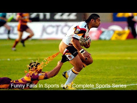 Funny Fails In Sports #4 ~ Complete Sports Series