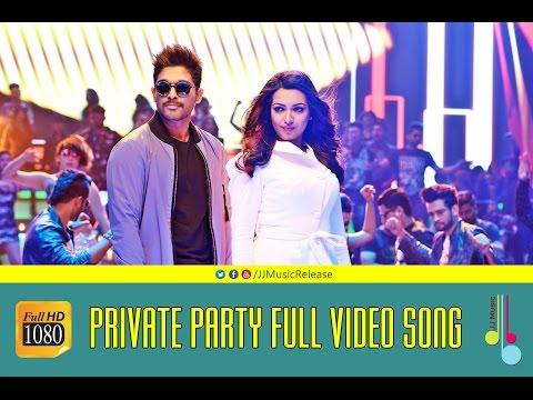 Private Party Malayalam Full Video Songᴴᴰ - YodhavuTheWarrior Malayalam(2016) Official|AlluArjun