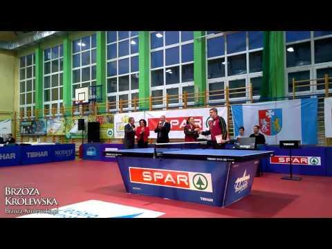 Ekstraklasa Tenisa Stołowego Kobiet w Brzózie Królewskiej 13.10.2015r. [wideo]