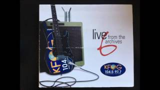 KFOG Live From the Archives Volume 6 Ben Harper   Ground On Down 1999