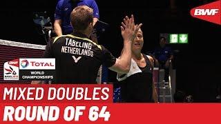 R64 | XD | RONALD/SAUFIKA (INA) vs. TABELING/PIEK (NED) | BWF 2019