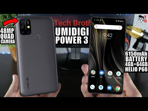 UMIDIGI Power 3 PREVIEW: iPhone-Like 48MP Quad Camera!