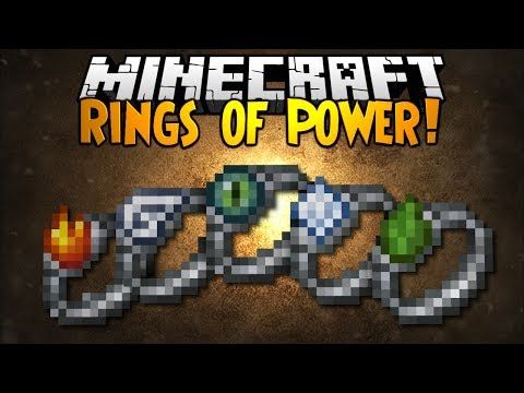 164Forge Rings Of Power V146 Minecraft Mod