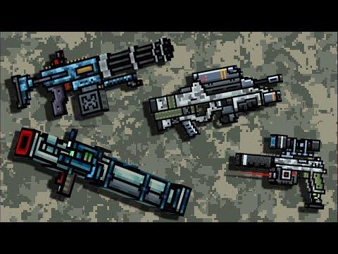 Pixel Gun 3D - New Battle Pass Weapons Gameplay in Clan Siege