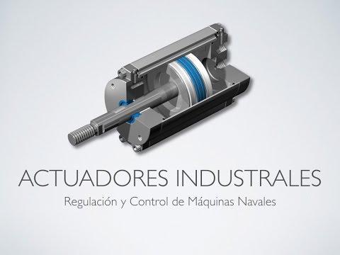 Descripción de los actuadores industriales