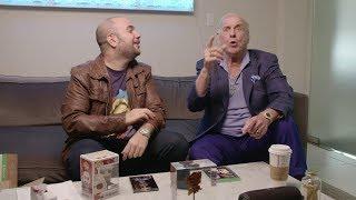 Ric Flair checks out WWE 2K19 Wooooo! Edition with Peter Rosenberg