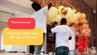 BALLOON GARLAND PRICING CHAT | TUTORIAL | SET UP 2 GARLANDS WITH ME | DIY