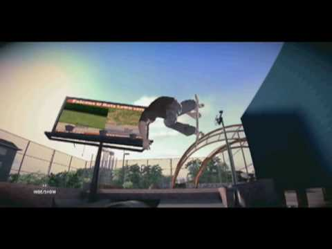 PSM3 first PS3 Skate video