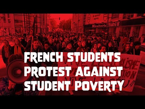French students hit the streets demanding justice for Anas