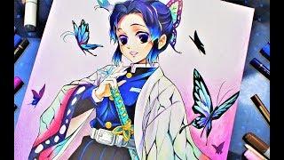 Shinobu Kocho  - (Demon Slayer: Kimetsu no Yaiba) - Drawing - SHINOBU KOCHOU   Kimetsu No Yaiba (鬼滅の刃)