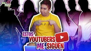 ¿Qué youtubers están suscritos a mi canal?