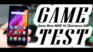 Xiaomi Redmi Note 4X - ТЕСТ ИГР С FPS! GAME TEST (FPS - во всех современных играх)