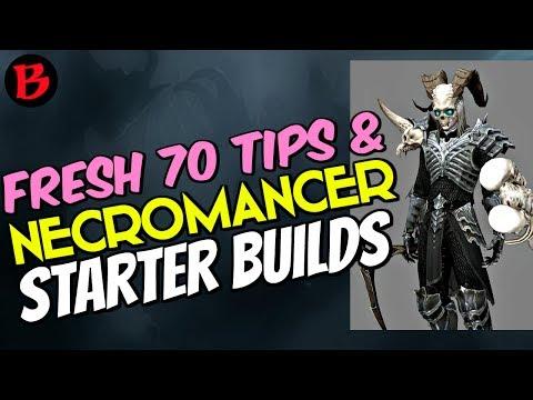 Necromancer Starter Builds & Fresh 70 Tips Diablo 3 Season 11 Patch 2.6