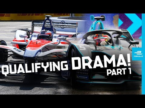 The Most Dramatic Qualifying Moments: Part 1! | ABB FIA Formula E Championship