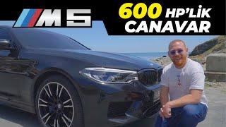 Yeni BMW M5 F90 Araba Tanıtımı   3 Saniyede 0-100 Hız Testi   600 HPlik Canavar   M5 İnceleme