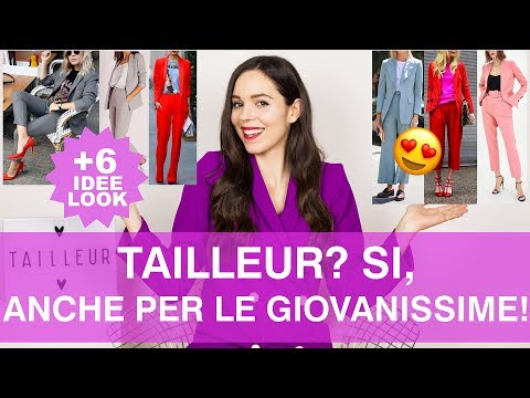 COME VESTIRSI ALLA MODA con il tailleur pantalone  6 look SUPER COOL e per  TUTTE 062e401c6fa