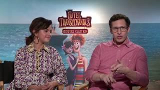 HOTEL TRANSYLVANIA 3 Selena Gomez & Andy Samberg Interview