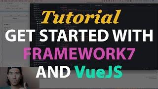 [V1] Build an app with Framework7 1.x and VueJS tutorial