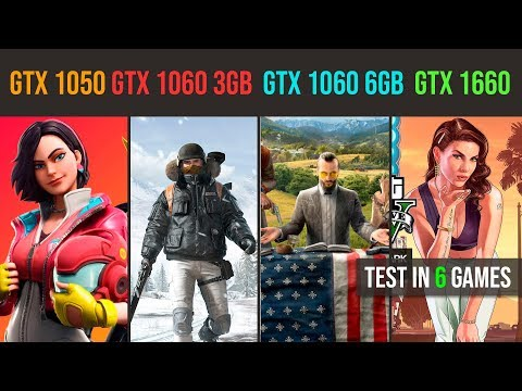 GTX 1650 vs 1060 3GB - 18 Games Tested - Jarrod'sTech