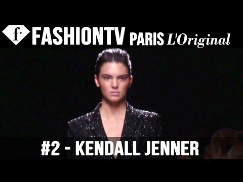Balmain Spring 2015 ft Rosie Huntington Whiteley, Kendall Jenner | Paris Fashion Week | FashionTV