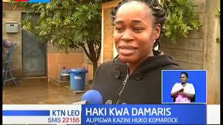 Haki kwa Damaris baada ya barubaru aliyemshambulia kutiwa mbaroni