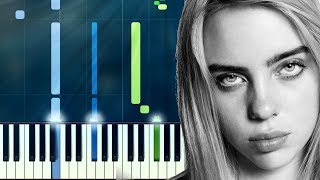 "Billie Eilish - ""Bored"" Piano Tutorial - Chords - How To Play - Cover"
