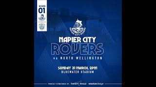 Napier City Rovers V North Wellington AFC 31 March 2019