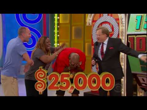Pure insanity on The Price is Right!
