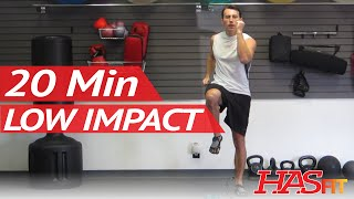 HASfit 20 Minute Low Impact Easy Workout to Burn Calories | Beginner Cardio Aerobic Exercise at Home by HASfit