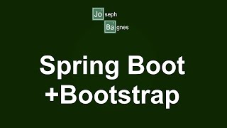 Spring Boot + Spring Data JPA + Bootstrap
