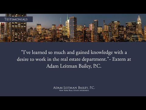 """""""I've learned so much and gained knowledge with a desire to work in the real estate department."""" testimonial video thumbnail"""