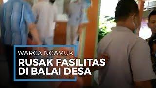 Tak Terima Dicoret dari Daftar Penerima Bansos, Enam Warga Ngamuk dan Rusak Fasilitas Balai Desa