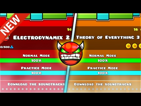 ELECTRODYNAMIX 2 AND TOE 3 FOR 2 2 COMFIRMED