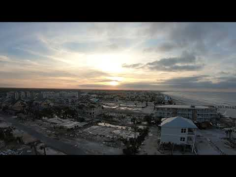 Aerial Video of Mexico Beach After Hurricane Michael