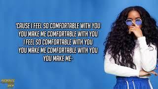 """Video thumbnail of """"H.E.R. - Comfortable (Lyrics)"""""""
