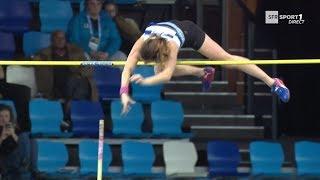 Liévin 2018 : Saut à la perche F (Ninon Guillon-Romarin avec 4,60 m)