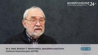 Co proponuje dr med. Bohdan Woronowicz pacjentowi, który nie potrafi całkowicie odstawić alkoholu