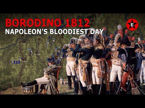 Nejkrvavější den napoleonských válek – Bitva u Borodina - Napoleonské války