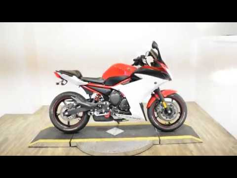 2014 Yamaha FZ6R in Wauconda, Illinois - Video 1