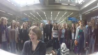 One Day Like This   Starling Arts Flashmob At St Pancras Station, London