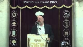 הרב ברוך רוזנבלום פרשת וישב 10 תשע״ו Rabbi Baruch Rosenblum