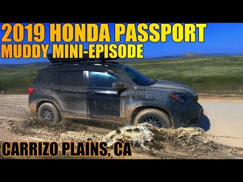 2019 Honda Passport Offroad - Muddy Mini Episode with two FXT's