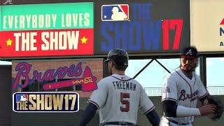 MLB The Show 17 Atlanta Braves Franchise EP25 MLB 17 Series & SunTrust Park Debut!